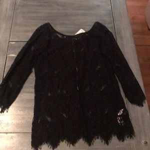 Lace blouse. NWT